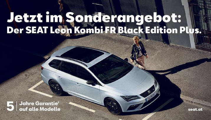 Seat Leon Kombi FR Black Edition Plus
